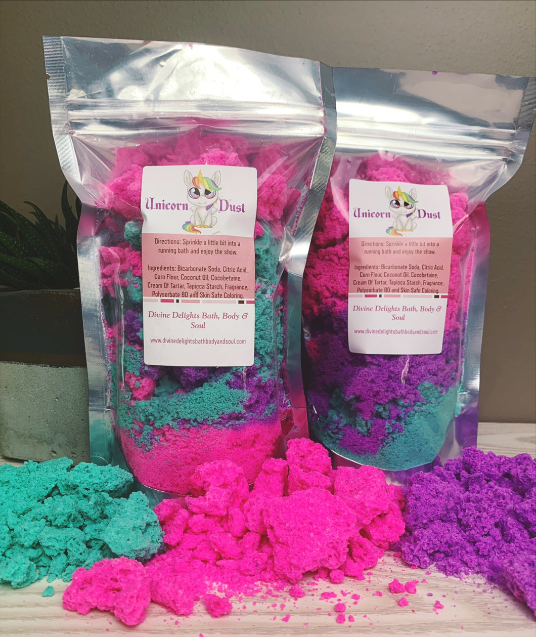 Unicorn Bath Bomb Dust