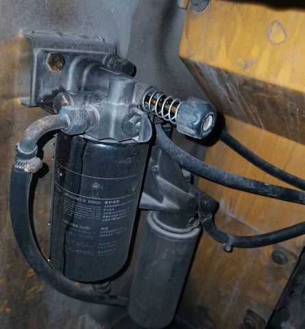 Volvo Fuel system housekeeping