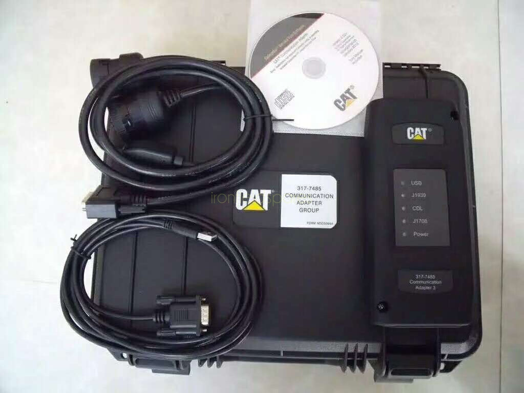 CAT Adapter 317-7484 3177484 Excavator Electronic Diagnostic tool Diagnostic Adapter EMPSIII EMPS 3