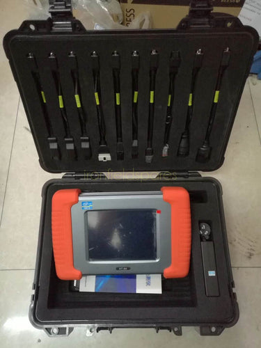 HT-8A Multi Brands Diagnostic Scanner Tool Adapter for Excavators, Trucks, Dozers and more