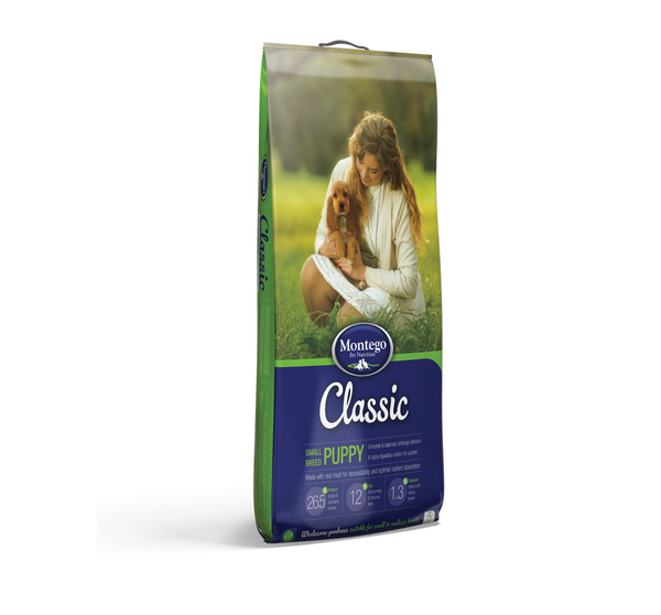 Montego Classic Small Breed Puppy Dog Food