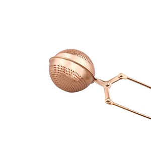 Rose Gold Stainless Steel Tea Strainer
