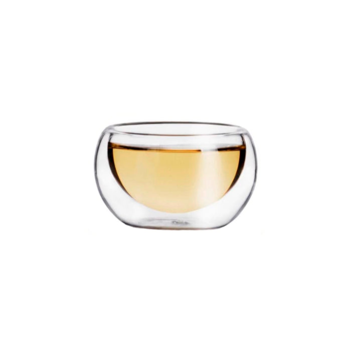 Double Wall Glass Tea Cup 50ml