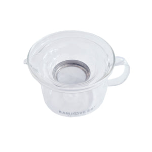 Glass Tea Pot with Strainer 200ml