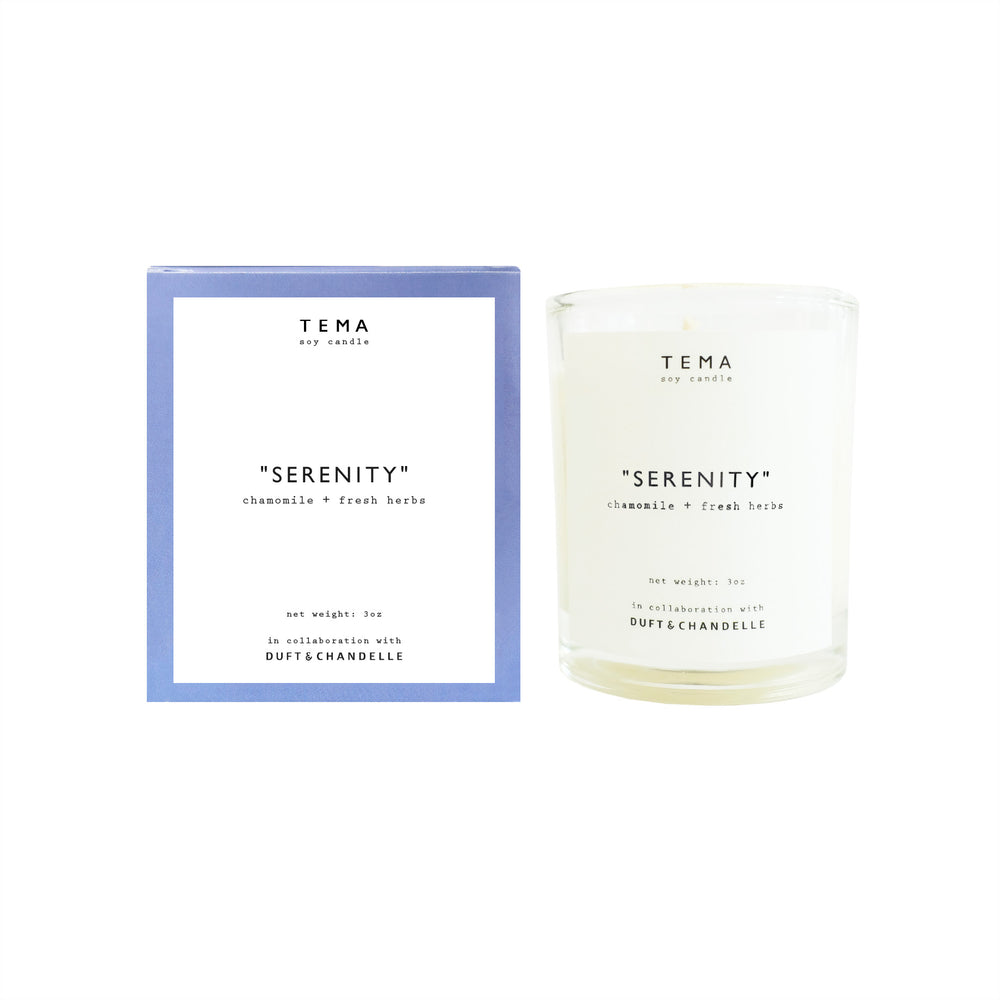 TEMA Tea x Duft Chandelle 3oz Soy Wax Candle