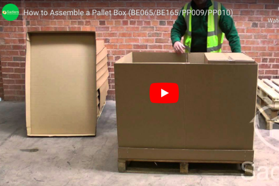 How to assemble a cardboard box (& more videos)
