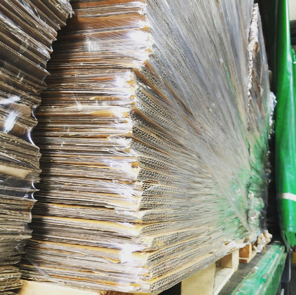 make money from cardboard waste in the uk