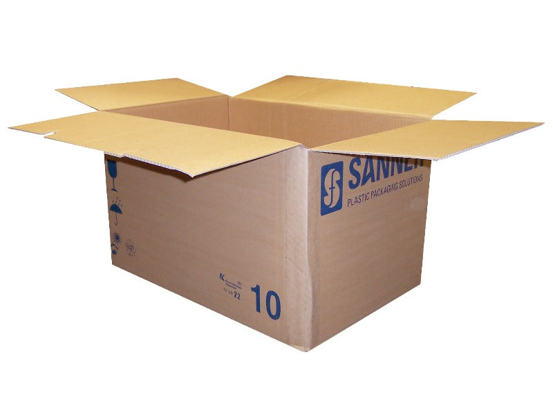 easy assemble cardboard box with self folding base