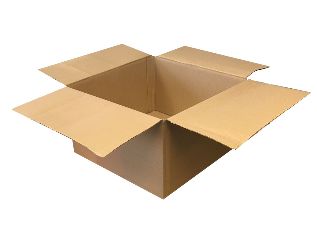 New Plain Single Wall Box - 350mm x 345mm x 190mm