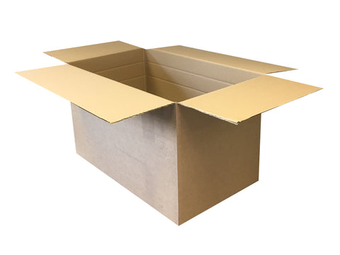 New Plain Strong Single Wall Box - 762mm x 457mm x 457mm
