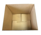Used Plain Strong Single Wall Box - 444mm x 390mm x 396mm