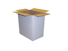 New Plain Single Wall Box - 200mm x 195mm x 225mm