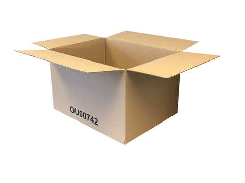single wall cardboard boxes with minimal print
