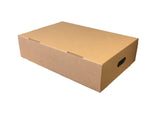 New Plain Strong Single Wall Box - 570mm x 365mm x 136mm