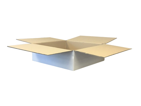 New Plain Strong Double Wall Box - 475mm x 470mm x 145mm