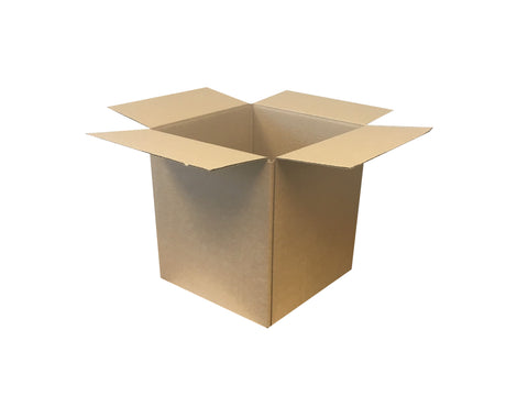 New Plain Single Wall Box - 243mm x 243mm x 267mm
