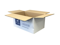 New Printed Double Wall Box - 564mm x 330mm x 260mm