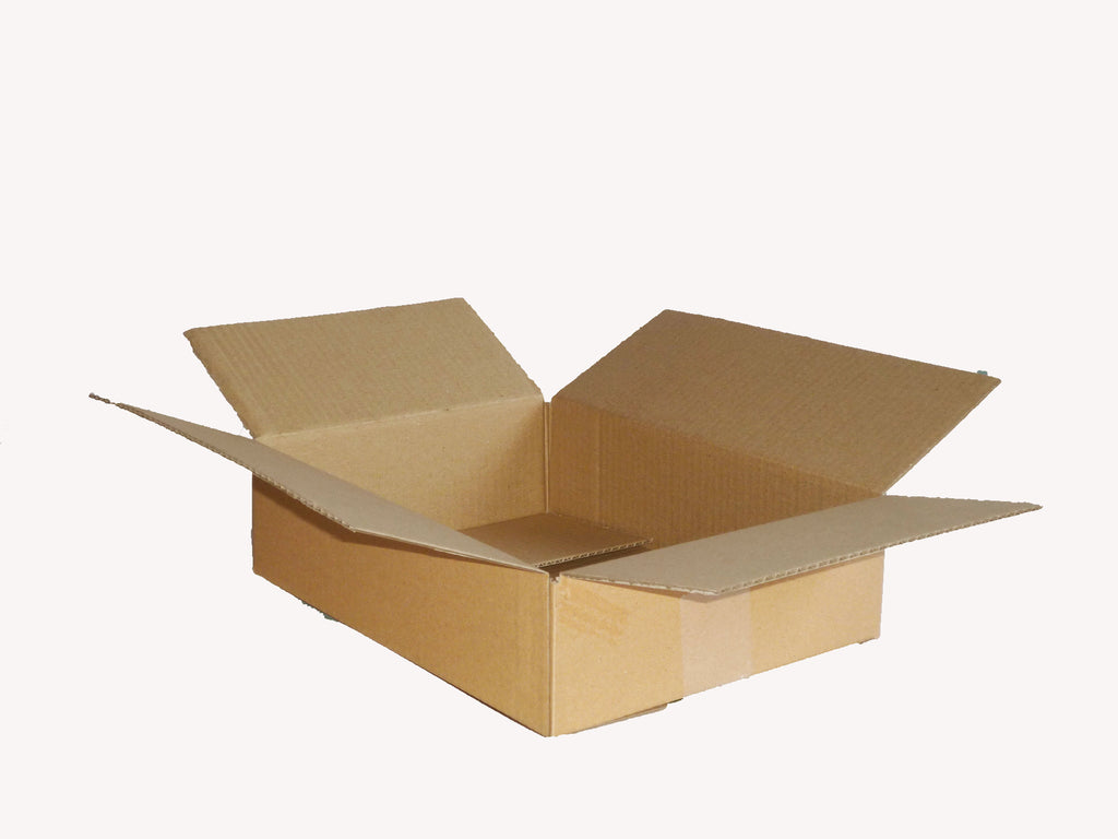New Plain Single Wall Box - 356mm x 244mm x 65mm
