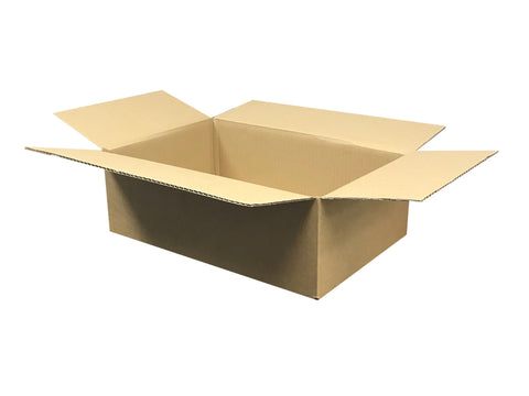 New Plain Strong Single Wall Box - 440mm x 281mm x 140mm