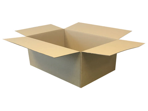 New Plain Single Wall Box - 495mm x 340mm x 200mm