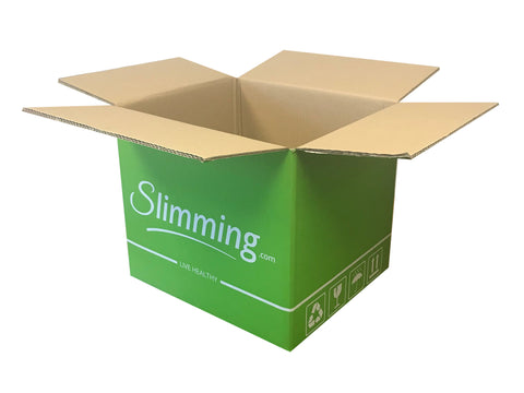 New Printed Strong Double Wall Box - 390mm x 330mm x 330mm
