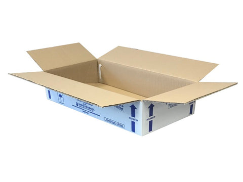 New Printed Double Wall Box - 550mm x 296mm x 105mm
