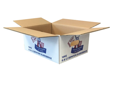 New Printed Strong Double Wall Box - 380mm x 287mm x 163mm