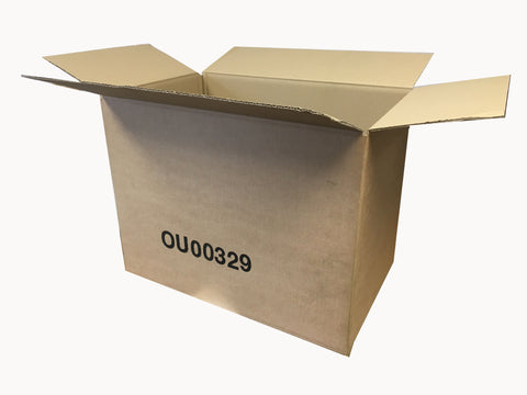 New Printed Single Wall Box - 461mm x 290mm x 338mm