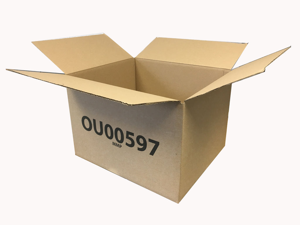new corrugated cardboard box 376mm length