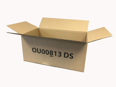 New Printed Strong Single Wall Box - 490mm x 290mm x 212mm
