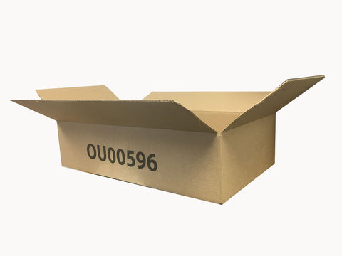 New Printed Single Wall Box - 590mm x 324mm x 142mm