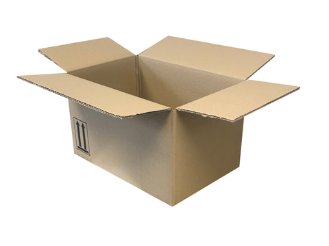 New Plain Double Wall Box - 365mm x 245mm x 207mm