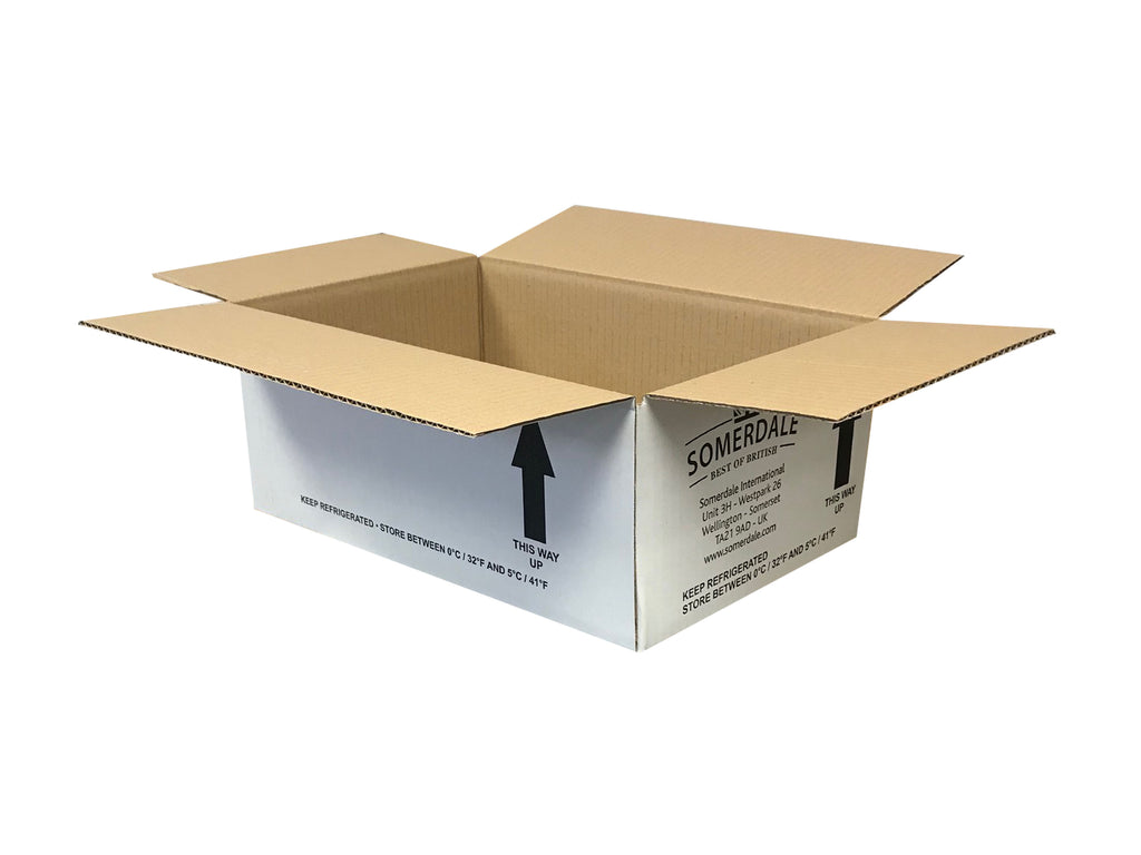 white cardboard boxes for packing
