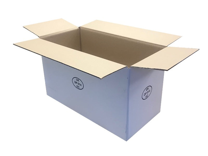 white cardboard boxes 471mm
