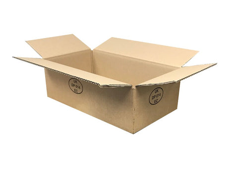 New Printed Strong Single Wall Box - 390mm x 220mm x 120mm