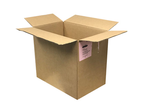 plain used boxes eco packaging