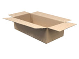 plain cardboard boxes 492 x 231 x 130mm