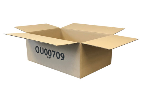 boxes printed with OU reference