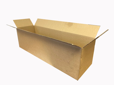 long cardboard box - 590 x 170 x 165mm
