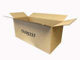 long cardboard boxes 595mm x 263mm x 263mm