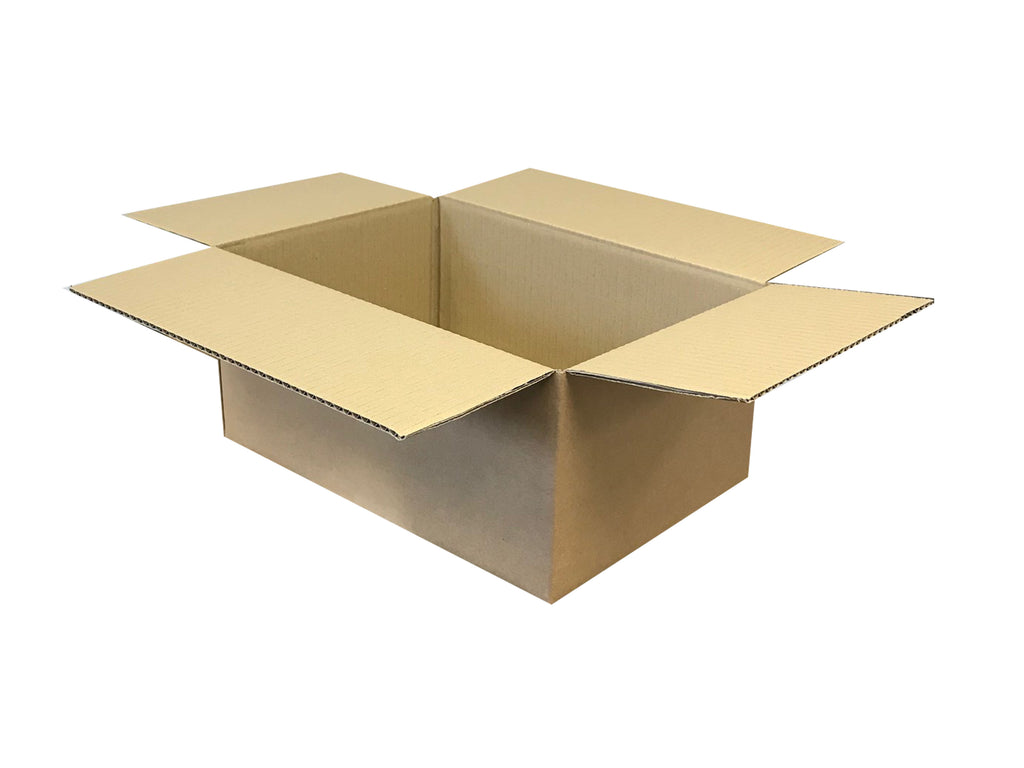 New Plain Strong Single Wall Box - 350mm x 245mm x 152mm