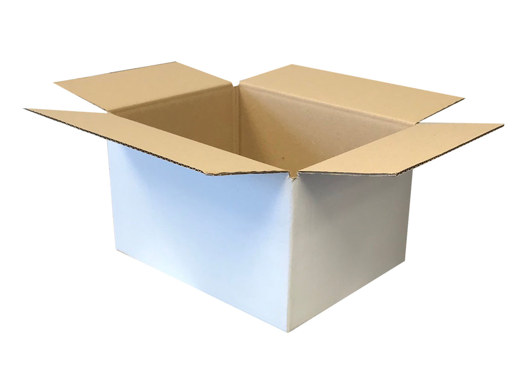 New Plain Strong Single Wall Box - 265mm x 200mm x 160mm