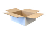 New Plain Strong Single Wall Box - 265mm x 210mm x 96mm