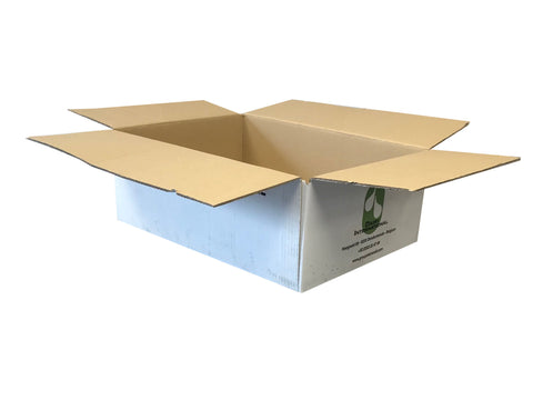 New Printed Strong Double Wall Box - 380mm x 278mm x 136mm