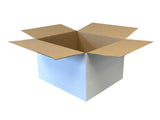 New Plain Strong Single Wall Box - 380mm x 325mm x 229mm