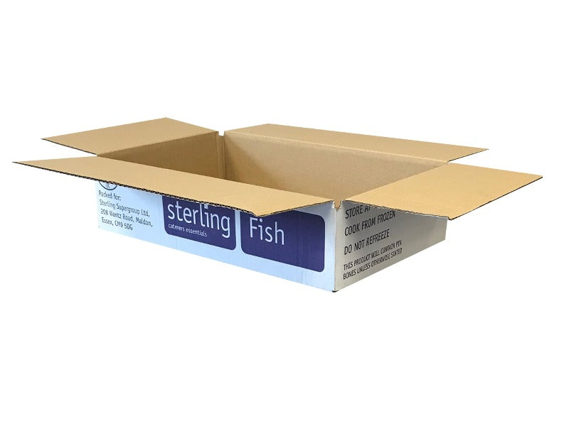 New Printed Strong Single Wall Box - 376mm x 232mm x 86mm