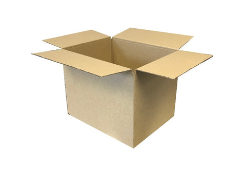 new cardboard box plain 270mm wide