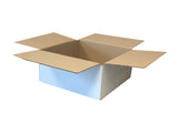 New Plain Single Wall Box - 287mm x 285mm x 130mm