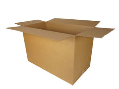 large, deep cardboard box 813 x 432 x 533mm
