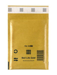 Mail Lite Gold Bubble Bag F - 220mm x 330mm